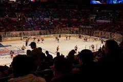 Rangers x Islanders Hockey Game Royalty Free Stock Image