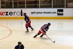 Rangers x Islanders Hockey Game Stock Photos