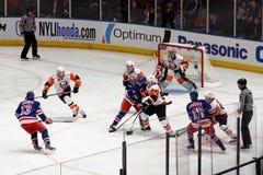 Rangers x Islanders Hockey Game Stock Photography