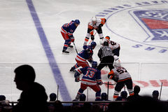 Rangers x Islanders Ice Hockey Game Royalty Free Stock Photo