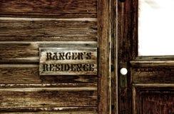 Rangers residence Stock Photo