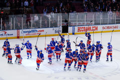 Rangers Salute Stock Photo