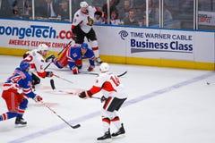 Rangers vs Senators 3-22-09 Royalty Free Stock Photo