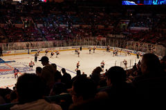 Rangers x Islanders Hockey Game Royalty Free Stock Image