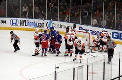 Rangers x Islanders Ice Hockey Game Royalty Free Stock Image