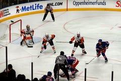 Rangers x Islanders Ice Hockey Game Royalty Free Stock Images