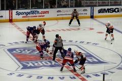 Rangers x Islanders Ice Hockey Game Royalty Free Stock Photos