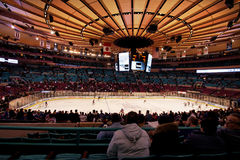 Rangers x Islanders Madison Square Garden Stock Photo