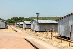 Rangées des casernes Photo libre de droits