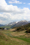 Rangido da montanha Foto de Stock Royalty Free