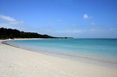 Rangiputa Beach, Northland, New Zealand. Rangiputa Beach on a beautiful sunny day, Northland, New Zealand Stock Images