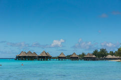 Rangiroa atol, Francuski Polynesia obraz stock