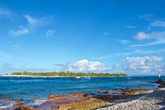 Rangiroa atoll arkivfoto