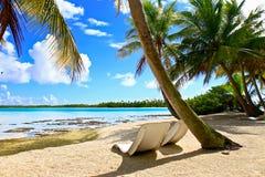 Rangiroa atoll royaltyfri bild