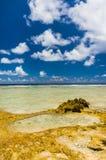Rangiroa atoll, French Polynesia Royalty Free Stock Images