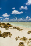 Rangiroa atoll, French Polynesia Stock Photo