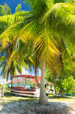 Rangiroa atoll, French Polynesia. Paradise view of Rangiroa atoll, French Polynesia Stock Image