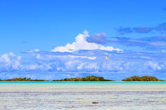 Rangiroa atoll Royalty Free Stock Images