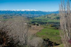 Rangitikei Valley Stock Photo