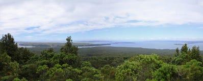 Rangitoto ö, Nya Zeeland Arkivfoton