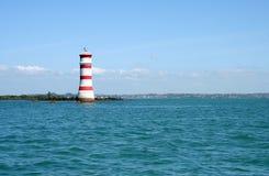 rangitoto маяка острова Стоковое фото RF