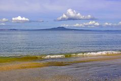 RANGITOTO, Hauraki Gulf, North Island, New Zealand Royalty Free Stock Image