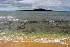 Rangitoto-Insel Stockfoto