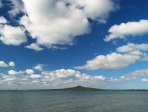 Rangitoto island Stock Image