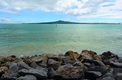 Rangitoto Island Auckland New Zealand Stock Image
