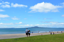 Rangitoto Island Royalty Free Stock Images