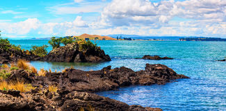 Rangitoto Island, district of Auckland City. New Zealand Stock Photo
