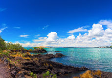 Rangitoto Island, district of Auckland City. Stock Images
