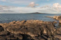 Rangitoto Island, Hauraki Gulf, New Zealand Stock Photo