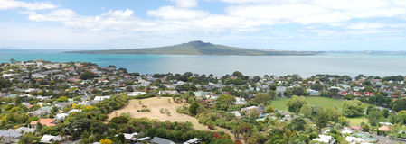 Rangitoto Island and the Hauraki Gulf, New Zealand Royalty Free Stock Image