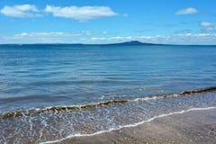 Rangitoto Island landscape New Zealand Stock Photography