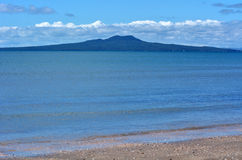 Rangitoto Island landscape New Zealand Stock Image