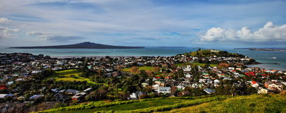 Rangitoto Island and NorthHead Royalty Free Stock Images