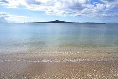 Rangitoto, New Zealand Stock Photo