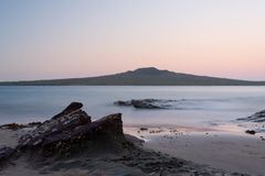 Rangitoto Volcano Island Auckland New Zealand imagem de stock royalty free