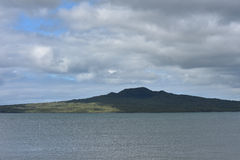 Rangitoto vulkanö Arkivfoton