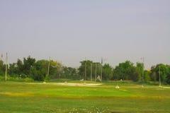 Rango de conducción del campo de golf Fotografía de archivo