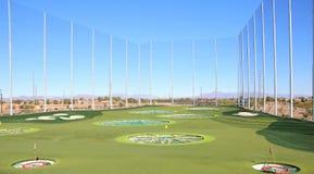 Rango de conducción del golf Fotos de archivo libres de regalías