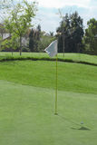 Rango de golf Fotos de archivo