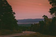 Rango de montaña Fotos de archivo