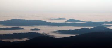 Rango de montaña apalache Fotos de archivo