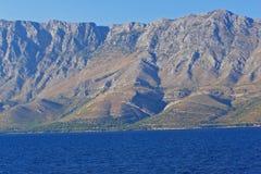 Rango de montaña costero Foto de archivo
