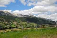 Rango de montaña de Montana Imagen de archivo libre de regalías