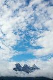 Rango de montaña de tres hermanas Fotos de archivo libres de regalías