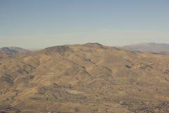 Rango de montaña del desierto fotografía de archivo
