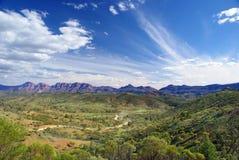 Rango de montaña del Flinders Fotografía de archivo libre de regalías